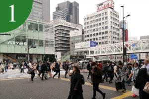 アクセス方法①―新宿駅バスタ前