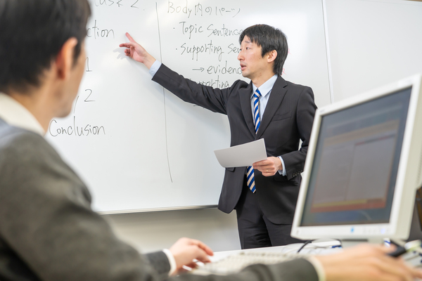 TOEFL iBT講座の様子
