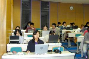 「TOEFL 実践集中講座」の様子1